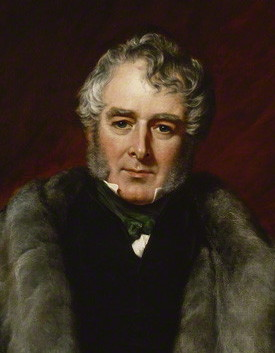 NPG 941; William Lamb, 2nd Viscount Melbourne by John Partridge